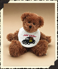 Jeff Gordon Baby Bib Bear Boyds Bear