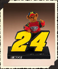 Jeff Gordon Figurine Boyds Bear
