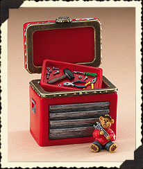 Jeff Gordon Hinged Box Boyds Bear