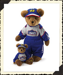 Jimmie Johnson Armature Bear Boyds Bear