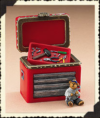 Jimmie Johnson Hinged Box Boyds Bear