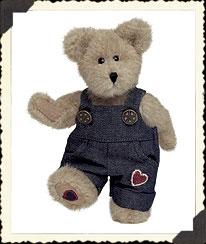 Jimmy T. Bearheart Boyds Bear