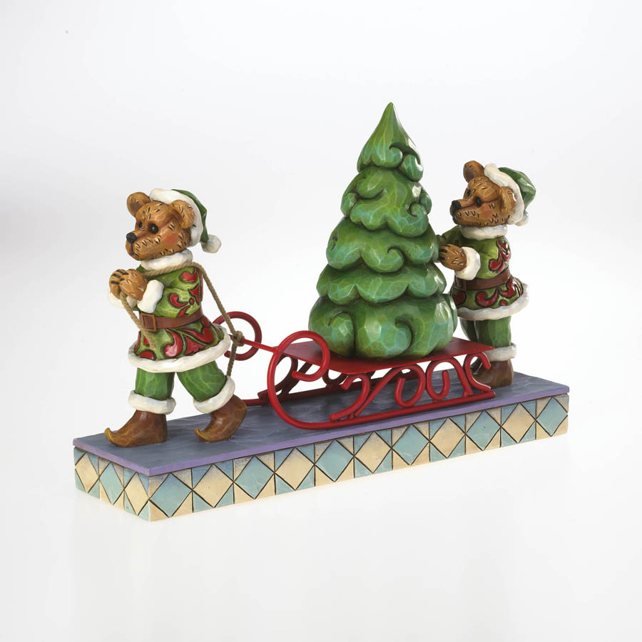 Jingle And Jangle...  Oh Christmas Tree! Boyds Bear