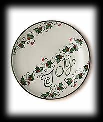 Joy Decorative Plate Boyds Bear