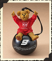 Kasey Kahne Ornament Ball Boyds Bear