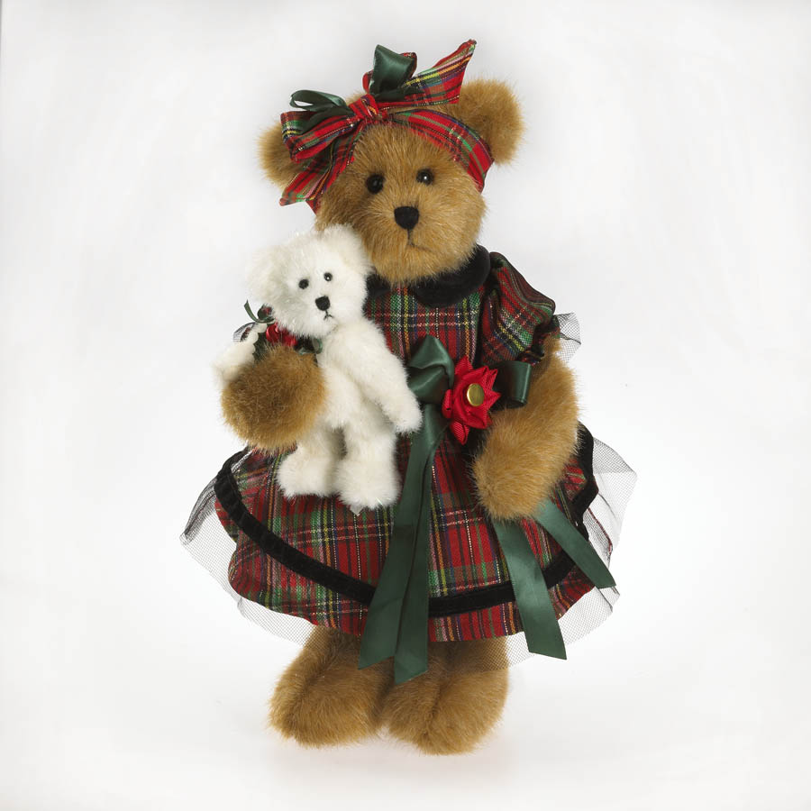 Katherine Tartenbeary And Lil' Prince Boyds Bear