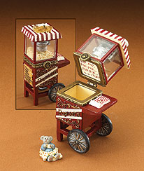 Kernel's Popcorn Cart With Pop Mcnibble Boyds Bear