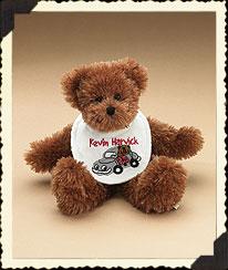 Kevin Harvick Baby Bib Bear Boyds Bear