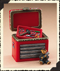 Kevin Harvick Hinged Box Boyds Bear