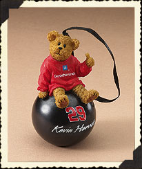 Kevin Harvick Ornament Ball Boyds Bear