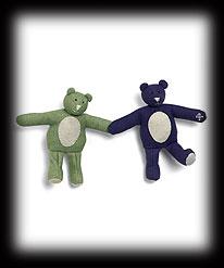 Key Lime & Grape Snap Bears Boyds Bear