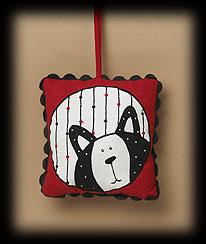 Kitty Face Door Pillow Boyds Bear