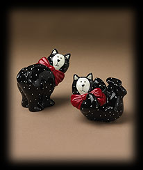 Kitty Salt And Pepper Shakers Boyds Bear