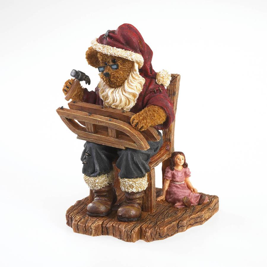 Kringlebeary Claus... North Pole Repair Shop Boyds Bear