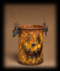 Large Haunted Hollow Bucket Boyds Bear