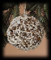 Large Ice Ball Ornament Boyds Bear