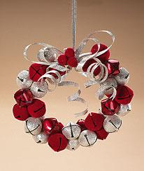 Large Jingle Bell Ornament Boyds Bear