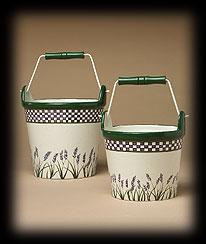 Lavender Fields Decorative Buckets Boyds Bear