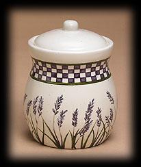 Lavender Fields Decorative Jar Boyds Bear