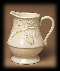 Leaf & Berry Relief Pitcher Boyds Bear