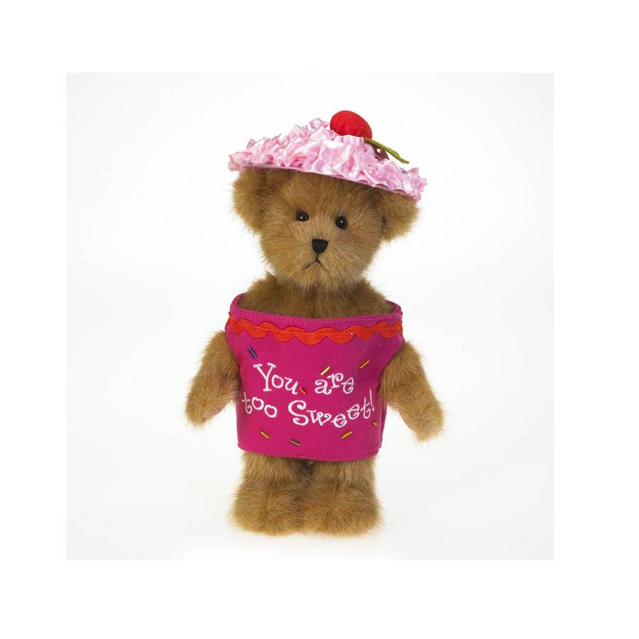 Lil' Cupcake Frostin' Fluff Boyds Bear