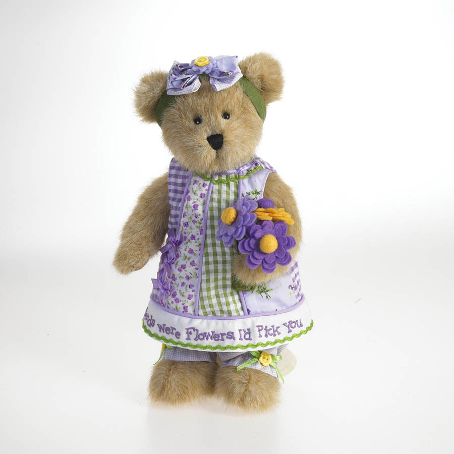 Lila C. Bloomin' Beary Boyds Bear