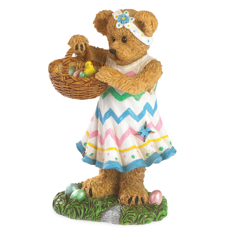Lily's Easter Basket...an Egg-stra Surprise! Boyds Bear