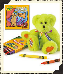 Lime B. Bright Boyds Bear