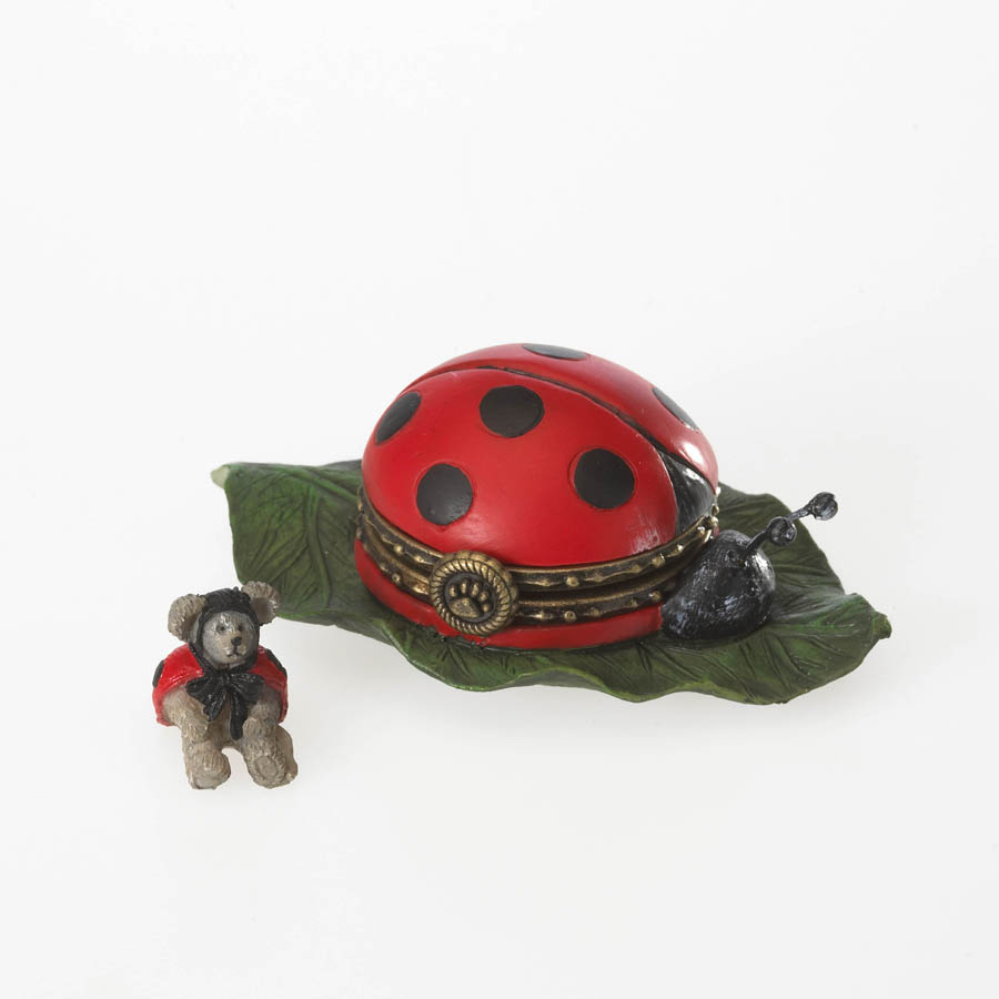 Lovely Lady Bug With Lucky Mcnibble Boyds Bear