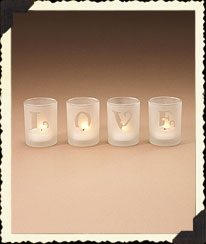 Love's Glow Votives Boyds Bear