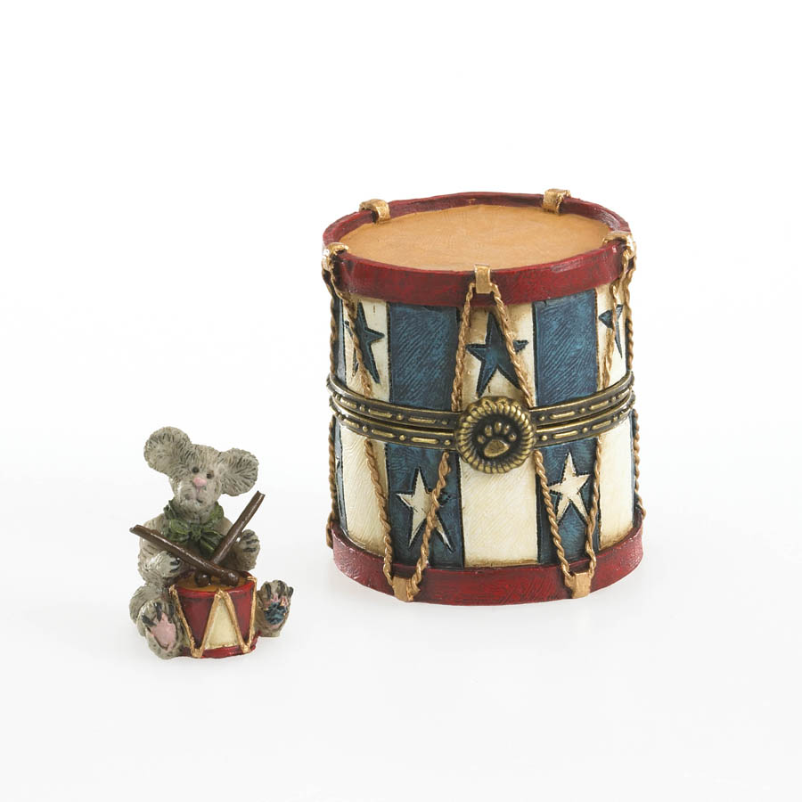 Madison's Star Bangled Drum With Sticks Mcnibble Boyds Bear