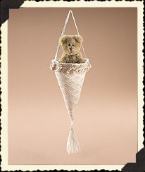 Making Spirits Bright Fabric Cone Boyds Bear