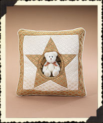 Making Spirits Bright Pillow Boyds Bear