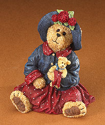 Mamie Bearsvelt With Teddy... Hold Near What Is Dear Boyds Bear