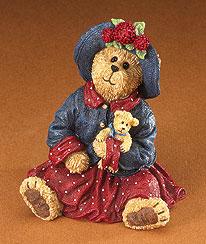 Mamie Bearsvelt With Teddy... Hold Near What Is Dear Boyds Bear