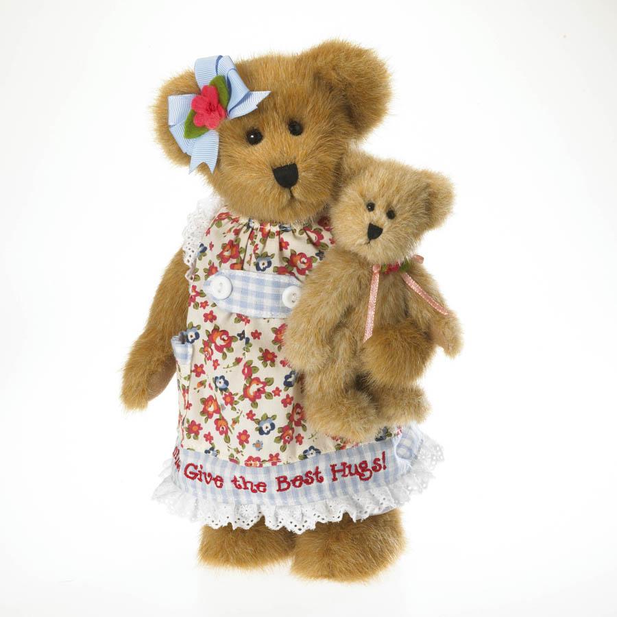 Mamma Bearlove With Lil' Hugsley Boyds Bear