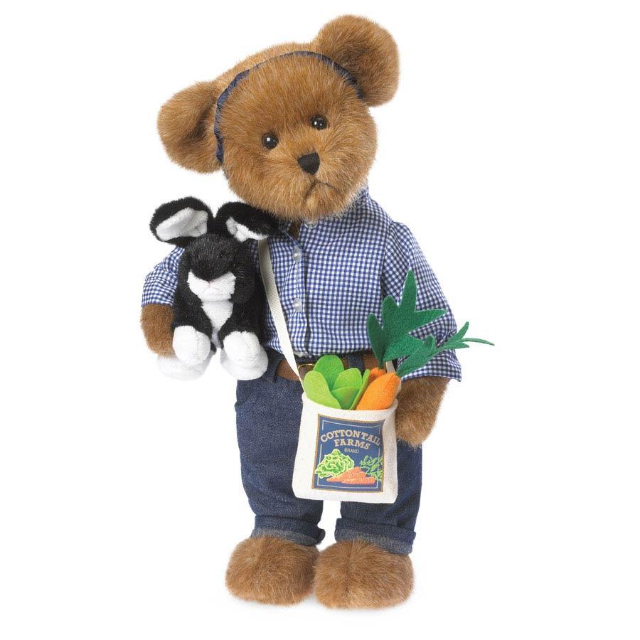 Marcie With Rodney Boyds Bear