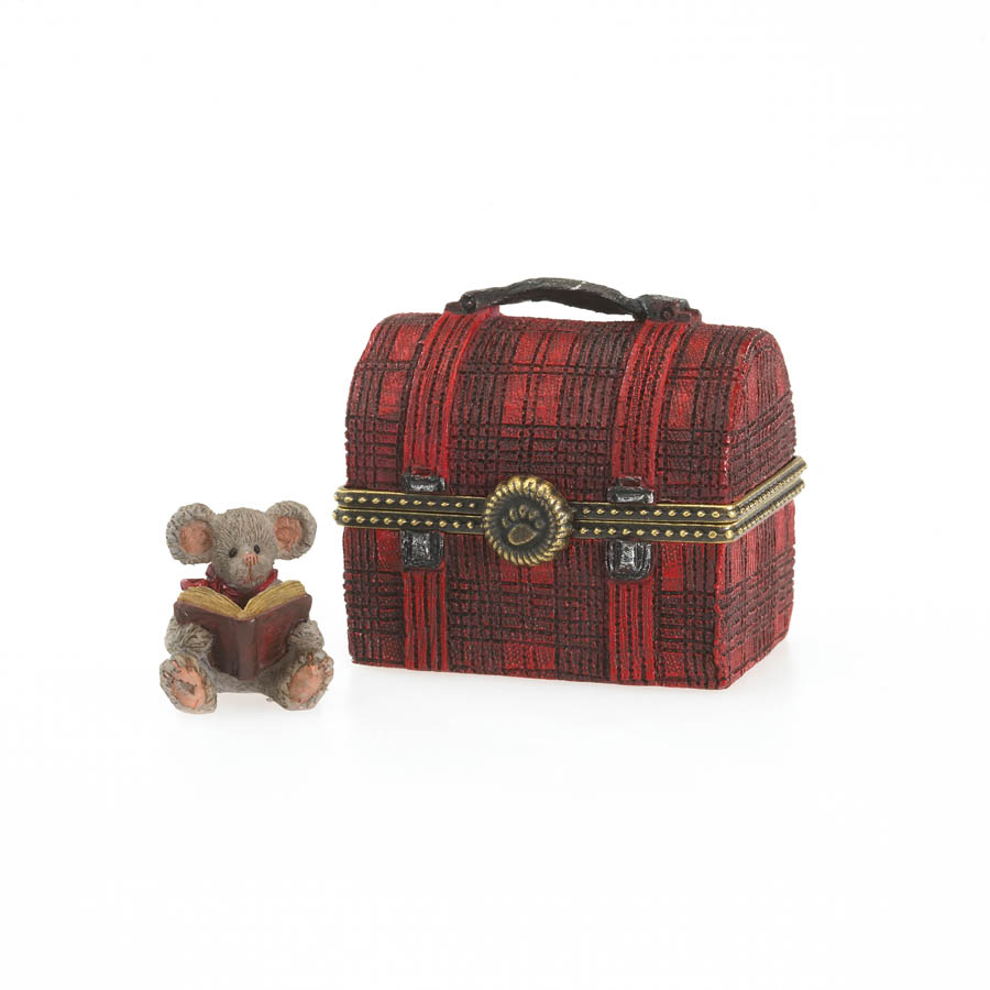 Matthew's Lunchbox With Crumb Mcnibble Boyds Bear