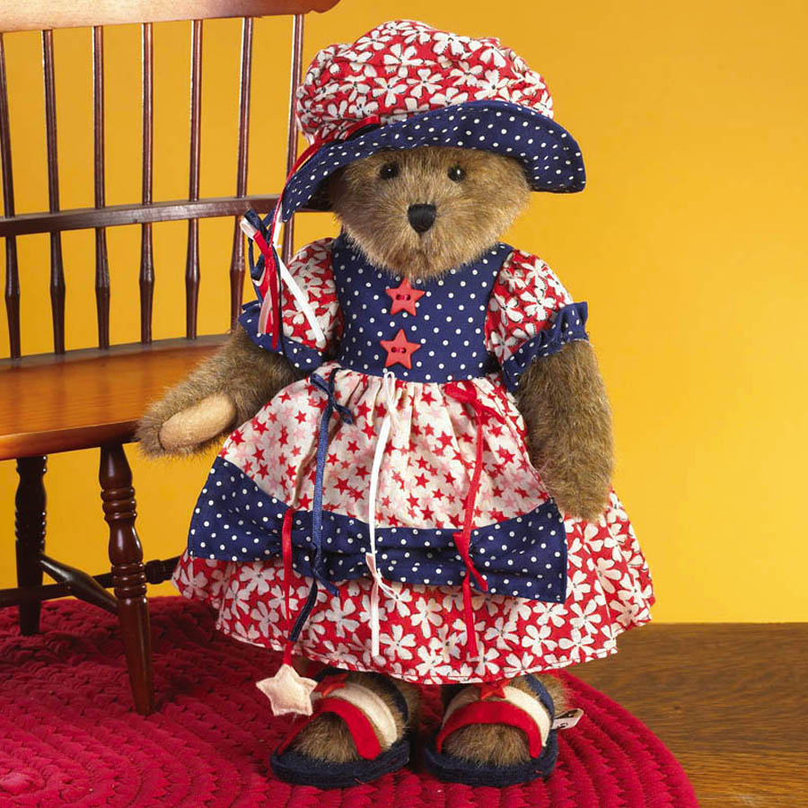 Megin Marie Bearyproud Boyds Bear
