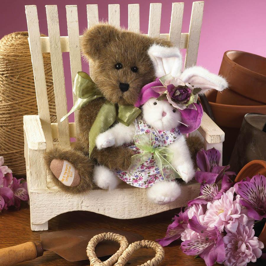Mimsy With Bunnykins... Springtime Friends Boyds Bear