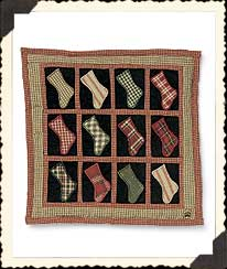 Mindy's The Stockings Were Hung Quilt Boyds Bear
