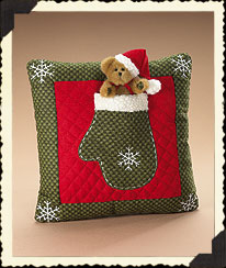 Mitten 'n Bear Pillow Boyds Bear