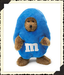 M&m's® Blue Peeker Boyds Bear