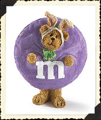 M&m's® Easter Resin Figurine Boyds Bear
