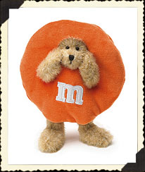 M&m's® Orange Peeker Boyds Bear