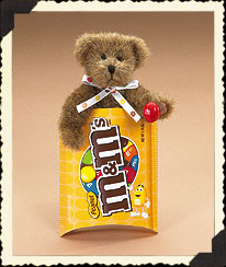 M&m's® Peanut Peek-a-bear Boyds Bear