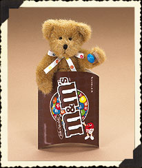 M&m's® Plain Peek-a-bear Boyds Bear