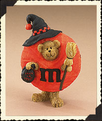 M&m's® Witch Peeker Figurine Boyds Bear