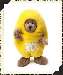 M&m's® Yellow Peeker Boyds Bear