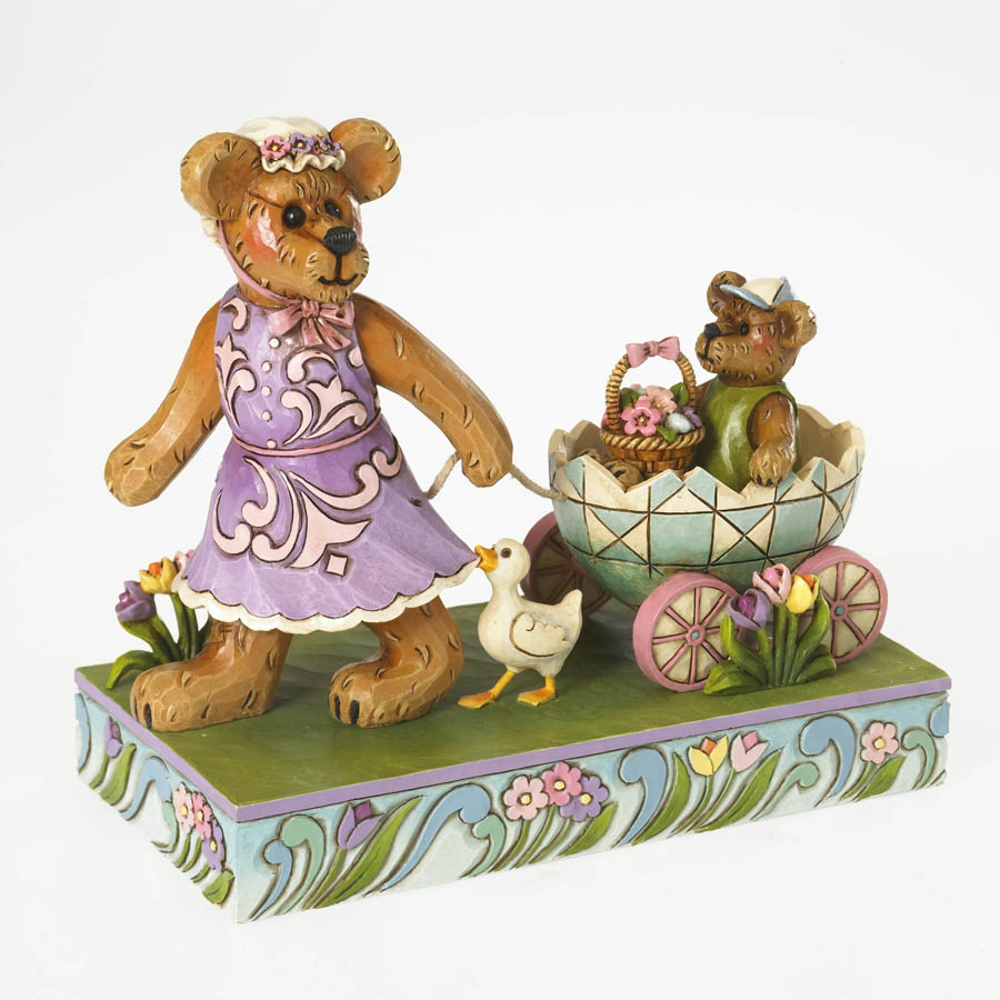 Momma Bearsdale With Petey ... Easter Parade Boyds Bear